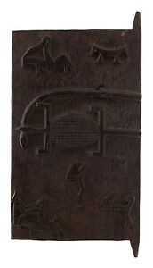Halter Dachboden Baoule 70 X 37 CM Art Afrikanisch 1075 Gar