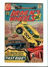Drag N ' Wheels 33 . Charlton 1969 - FN +