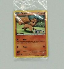Build a Bear Exclusive Vulpix Pokémon TCG Card