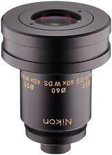 New! Nikon Fieldscope Eyepiece Eye Lens 40X 60X 75X Wide DS from Japan Import!