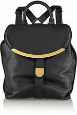 SEE BY CHLOE Lizzie Black Leather Backpack Handbag $495  NWT