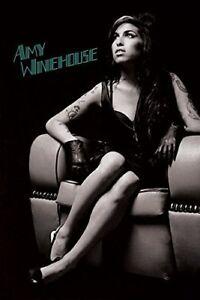 Silk Poster Amy Winehouse Music Star Singer B-1821