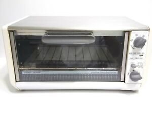 Black Decker SpaceMaker Toast-R-Oven Broiler Toaster Under Cabinet TRO570 TY5