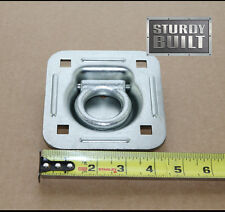 4x Recessed Tie Down D Rings Cargo Quad Trailer Van Anchor point Truck Container