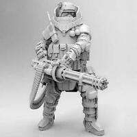 3 Pcs Heavily Armored Soldier Of the Future Resin Scale Kit TSUN-1920 Model E0P2