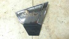 83 Honda VT 500 C VT500 Shadow chrome right side cover panel