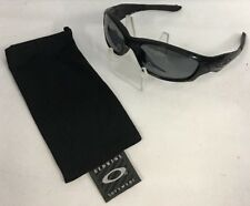 Oakley Straight Polished Black Polarized #12-935 *Fast Ship* E21