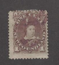 Newfoundland 42 - Edward VII 1 Cent. Used.  #02 NEW42