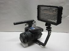 Pro RX10 AZ SM-2L SX stereo mic video light for Sony RX10 IV III II a6500 a6300