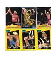 WCW TOPPS WWE TNA 7 RIC FLAIR WRESTLING CARDS A NICE MIX