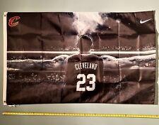 LeBRON JAMES FLAG *FREE SHIP USA SELLER!* Cleveland Cavs Lakers Poster Sign 3x5'
