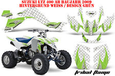 AMR RACING DEKOR GRAPHIC KIT ATV SUZUKI LTZ 400 AB 2009+ TRIBAL FLAME LAGERWARE
