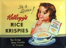 Blechschild Kellogs Rice Krispies