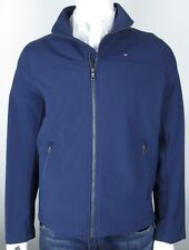Tommy Hilfiger Jacket Navy Blue Logo Men's Size Medium M NWT $150