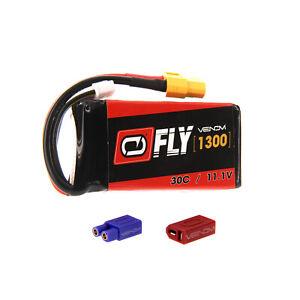 E-flite Radian 30C 3S 1300mAh 11.1V LiPo Battery with UNI 2.0 plug by Venom