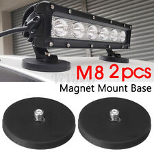 2PCS Magnetic Base Mount Bracket Holder Clamp Pad For LED Work Light Bar Offroad