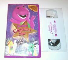 Barney's Christmas Star, VHS, TAPE