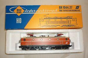 Roco - Échelle H0 04197 S Locomotive Électrique Br 1044 .27 Emballage 11.EI-26