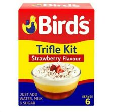 2 x Birds Trifle Strawberry Serve 4-6 141G packs freepost