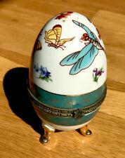Ceramic Egg- Good Condition Decorative Piece
