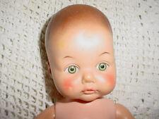 """12""""-1979-70s Eegee Sugar Kandi doll ? Baby Doll-Sleep Eyes-Molded Hair Drink Wet"""