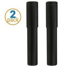2 Pack Black 54 Ring Gauge Adjustable Size Cigar Case - Crash Proof Cigar Tube