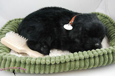 Black Lab Perfect Petzzz Life Like Stuffed Animal Breathing Dog