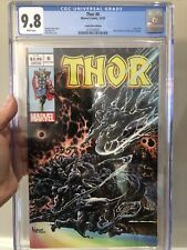 THOR 6 CGC 9.8 HOTZ VARIANT 🔥 SILVER SURFER 4 HOMAGE 🔥 DEATH OF GALACTUS L@@K!