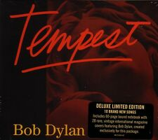 CD (NEU!) BOB DYLAN: Tempest (Duquesne whistle Deluxe mit 60-seitigem Book mkmbh