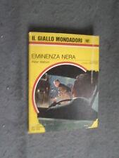 GIALLO MONDADORI #1102 - PETER MALLOCH - EMINENZA NERA - BUONO