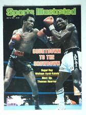 July 1981 Sports Illustrated Magazine Ray Leonard Wallops Kalule BOXING Showdown