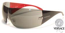 NEW Authentic VERSACE Sunglasses VE 2054 Havana White Black 100613 10008G 100187