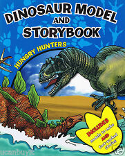 HUNGRY HUNTERS DINOSAURS Press-Out Models & Fun Fact Stories Activity Book