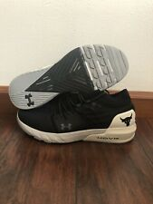 Under Armour PROJECT ROCK 2 Black White Men's Size 12 Training Shoes 3022024-001