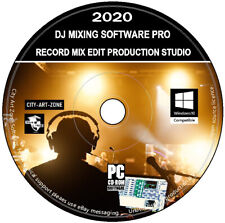 DJ Mixing Software - Music Production Studio - Audio Editing & Recording PC CD
