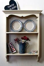 Bookshelf Shabby Chic Rustic Wall Shelving Unit
