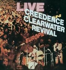 Creedence Clearwater Revival Live in Europe 1971 Vinyl 2 LP Download