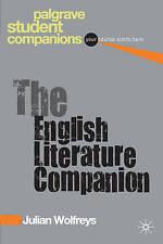 The English Literature Companion (Palgrave Student Companions Series),Wolfreys,
