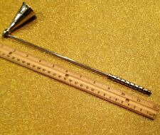 "Candle Snuffer Stainless steel 13"" Altar Tool to Safely Extinguish Candles"