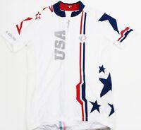 PEARL IZUMI Ride Men's Elite USA Cycling Jersey - Medium (M)
