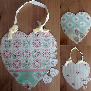 Rustic Heart Memo Board Magnetic Wall Hanging Heart 3 Designs Home Gift Idea