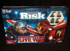 AVENGERS RISK CIVIL WAR CAPTAIN AMERICA BOARD GAME HASBRO  BRAND NEW- XMAS GIFT