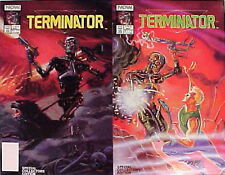 1990 Terminator Comic Book Mini-Series  Issues #1-2  UNREAD  FREE S&H