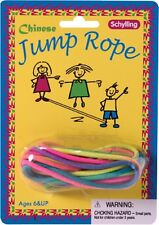 Chinese Jump Rope Jumprope Stretches to 7 feet x 5 feet Multicolor Party Favor