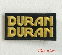 Duran Duran Music band Iron Sew On Embroidered Patch applique #1615