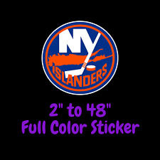 New York Islanders Full Color Vinyl Decal | Hydroflask decal | Cornhole decal 4
