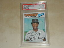 1977 Topps Burger King Yankees #13 Willie Randolph PSA 8 NM-MT 7246