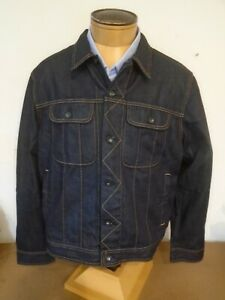 Rag & Bone Rinse Selvage Jeans Jacket Blue NWT XL (trim fit) $250 Made in USA