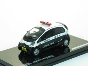 1/43 Scale model Mitsubishi iMiev, Japan Police