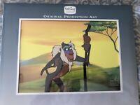 Disney's Lion King - RAFIKI ORIGINAL CEL ART Walt TV Production + COA Drawing